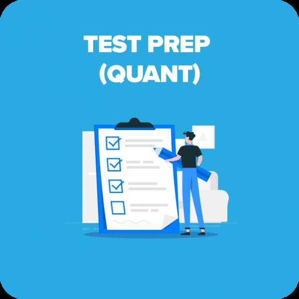 Quantitative Test Prep Beginner Course
